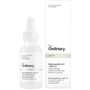 The Ordinary Niacinamide 10% + Zinc 1% High Strength Vitamin And Mineral 30ml 769915190311