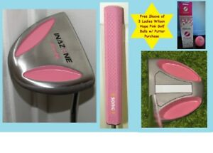 Image Is Loading Inazone Lady Mallet Putter Rose Pink Champagne Embled