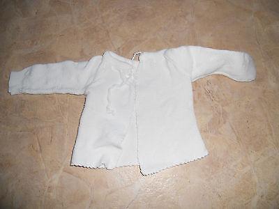 #super Schönes Baby Unterhemd Hemd Westchen Zum Zuschnüren Gr 62 Strick..