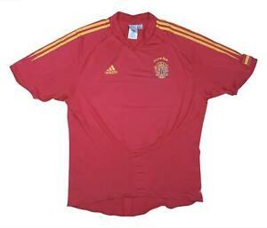 SPAGNA 2004-06 ORIGINALE Maglietta (eccellente) XL soccer jersey