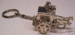 Sterling-Silver-Horse-amp-Carriage-Key-Chain-70