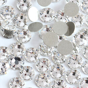 Shiny-Austrian-Crystal-3D-Non-HotFix-FlatBack-Nail-Art-Accessories-Bag-Clothing