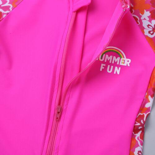 Sun Protection Surfing Bath Swimwear Swimsuit Swimming Costume US Girl Boy UV50