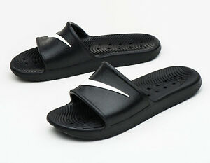 Nike KAWA SHOWER Slides (832528-001) Sports Sandals Slippers Flip ... 70761a520