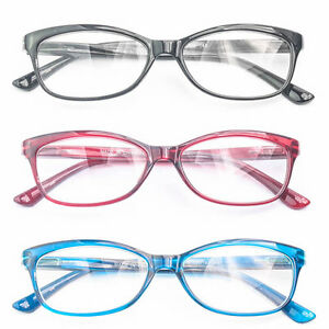 78faba9abaad Image is loading New-Women-Readers-Reading-Glasses-Black-Blue-Fashion-
