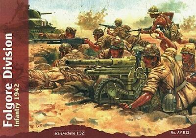 Amichevole Waterloo 1815 1:32 Soldatini Divisione Folgore Fanteria 1942 Infantry Art Ap012