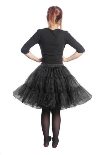 Petticoat Sottogonna sottoveste rockabilly 50s crinoline Hoopless tutu rockabill