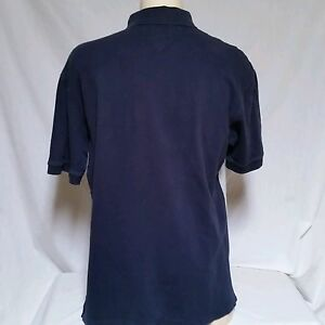 6a3c8752f VTG Tommy Hilfiger Polo Shirt 90's Rugby Spell Out Colorblock Flag Lotus  Mens XL