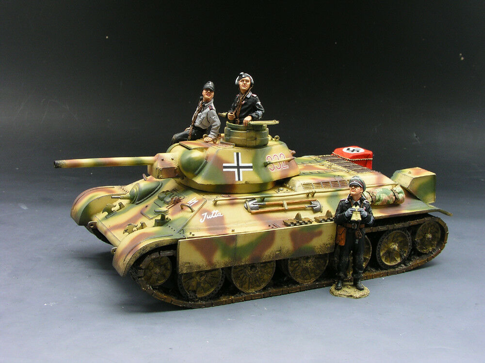 New King & Country Waffen SS WS098 German T34  Retired WS98