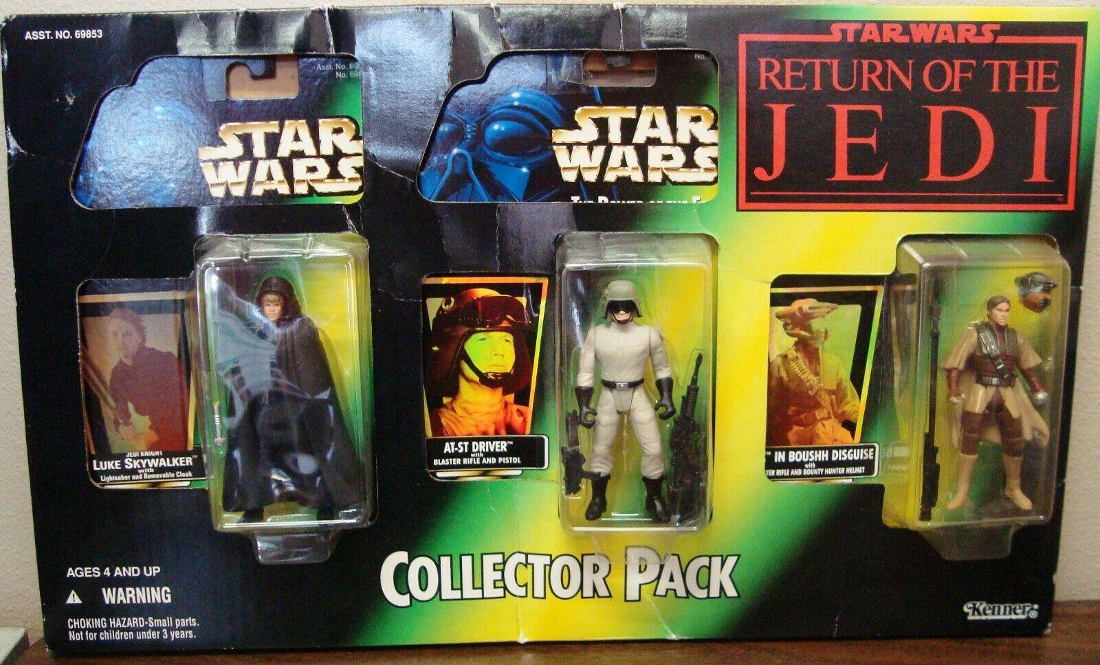 oferta de tienda Estrella wars poder de la fuerza fuerza fuerza paquete del recopilador Jedi Knight Luke en-Estrella Trek controlador Leia Boushh menta en tarjeta sellada en caja como nuevo  hasta 60% de descuento