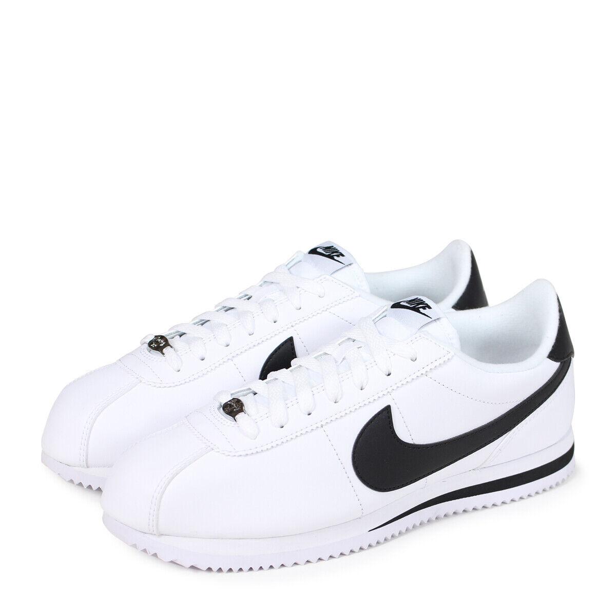Nike Cortez Basic Leather Men's Shoes white/black 819719 100