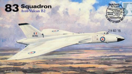 AV600 Avro Vulcan 83 Squadron RAF cover Farewell to Flight XH558 28 Oct 2015