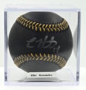 Enrique-Kike-Hernandez-Los-Angeles-Dodgers-Autographed-MLB-Baseball-PSA-DNA