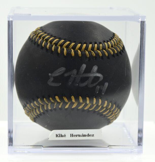 Enrique (Kiké) Hernández Los Angeles Dodgers Autographed MLB Baseball PSA/DNA
