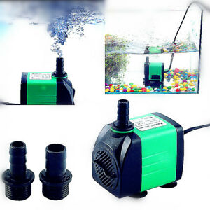 pompe eau 420 1800l h submersible 5types pour aquarium bassin poisson 220 240v ebay. Black Bedroom Furniture Sets. Home Design Ideas