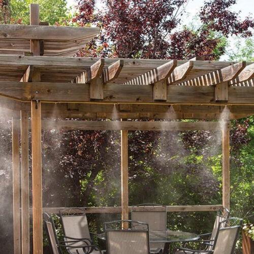 8M Garten Nebeldüse Düsen Misting Kühlsystem Sprühdüse Sprinkler Patio Wasser