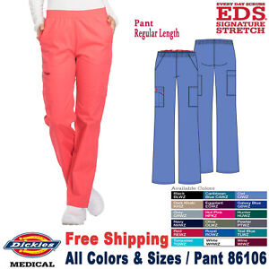Dickies-Ropa-Quirurgica-Eds-Firma-Mujer-Natural-Subir-Pantalon-Cargo-86106