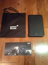 Montblanc Samsung Galaxy Tab 3 Leather Case Sleeve Black New Mont Blanc $320