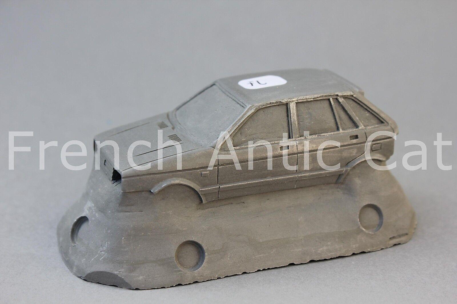 Rare modele matrice résine SEAT IBIZA 4 porte 1 43 Heco voiture miniature FL