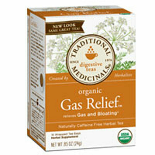 Organic Gas Relief Tea 16 BAGS