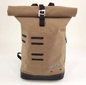 201f48b0fda Image is loading Ortlieb-Commuter-Daypack-Backpack-Urban -Coffee-Brown-Waterproof