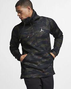 Nike Jordan Sportswear Flight Tech Mens 1//2 Zip Jacket Summit White Size Large AH6163-121