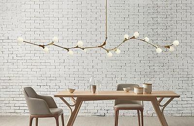 Modern Chandeliers Light Industrial Glass Molecule Pendant Light Ceiling Fixture