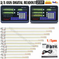 Linear Sensor Scale 2axis3axis Digital Readout Dro Display For Mill Lathe Edm