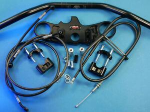 Abm-Superbike-Lenker-Kit-Kawasaki-ZX-6-R-ZX636C-05-06-Noir