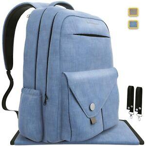 Backpack-Diaper-Bag-Waterproof-Multi-Function