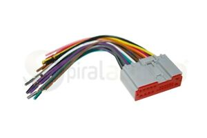 Reverse Radio Wiring Wire Harness OEM Factory Stereo Installation WH-1018