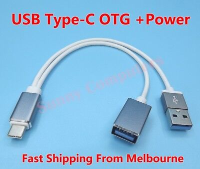 OTG Host Data Cable To USB Flash Drive For Samsung Galaxy Tab S3 SM-T820 T825