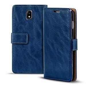 Handy-Tasche-Samsung-Galaxy-J3-2017-Flip-Cover-Case-Schutz-Hulle-Wallet-Etui