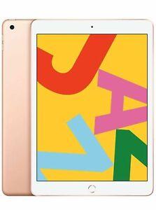 New-Sealed-Apple-10-2-034-iPad-7th-Gen-32GB-WiFi-2019-Model-1-year-warranty-Gold