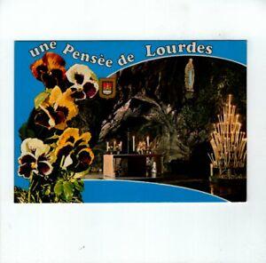 AK-Ansichtskarte-Un-Pensee-de-Lourdes