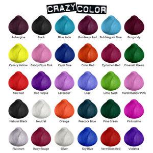 Tintura-Per-Capelli-Semi-Permanente-100ml-Crazy-Color-Rainbow-Tutti-I-Colori