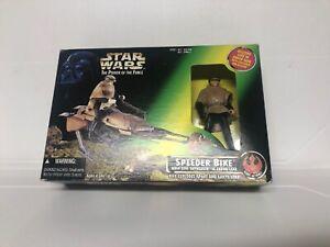Star-Wars-POTF2-Speeder-Bike-with-Luke-Skywalker-in-Endor-Gear