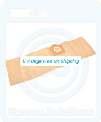 Vacuum Cleaner Dust Bags for Aquavac 790 8500 8502 ZR80 Type Pack Of 5