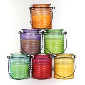 6x-Anti-Insekten-Citronella-Kerze-im-huebschen-Glas-mit-Haltebuegel-gegen-Muecken