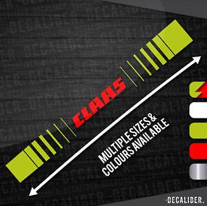 Plusieurs Tailles /& Couleurs Claas Tracteur//Moissonneuse Autocollant//Décalque