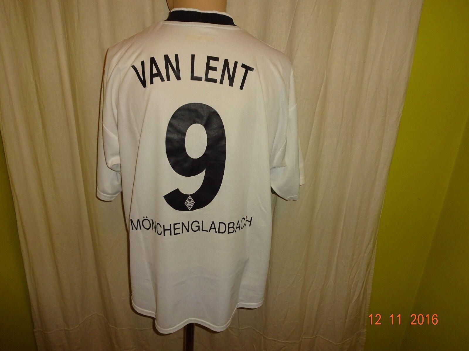 Borussia Mönchengladbach Reebok 100 Jahre Trikot 2000 + Nr.9 Van Lent Gr.L
