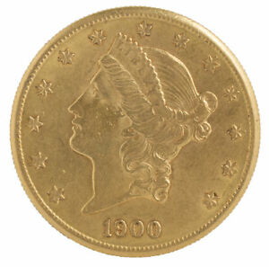 20-Gold-Liberty-Double-Eagle-Coin-Random-Date-VF-or-Better-0-9675-oz