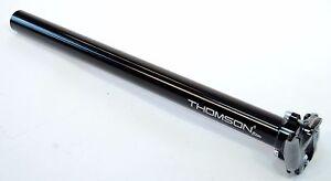 New Thomson Elite 31.6//30.9mm 367//287mm Setback Seatpost E109 E127 E128 Silver