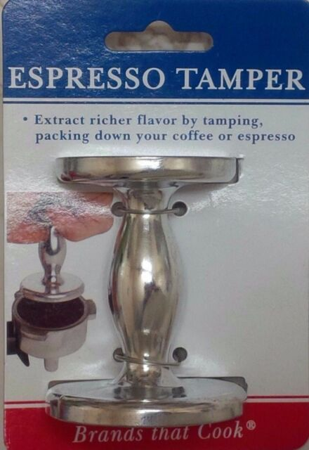Coffee Tamper Coffee Bean Press Tamper for Espresso 50mm Stainless Steel Espresso Coffee Tamper Coffee Bean Press