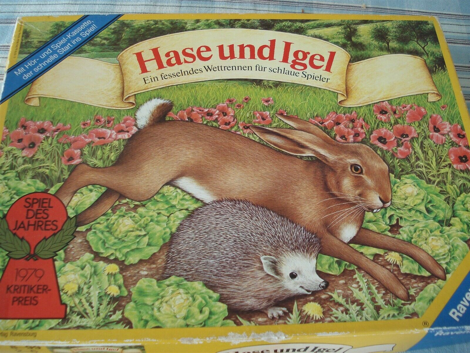 HASE UND IGEL - HARE AND TORTOISE GAME - RACE GAME - 1978 - HARE AND HEDGEHOG