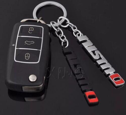 *NEW UK* Chrome Nissan Nismo Key Ring Chain Juke Skyline 350z 370z S13 S14 S15