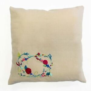 DMC-Meadow-Sweet-Rose-Garland-Embroidery-Cushion-Kit