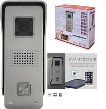 MONACOR WLAN Video Türklingel Kamera DVA-110DOOR WIFI Video Door Phone Android