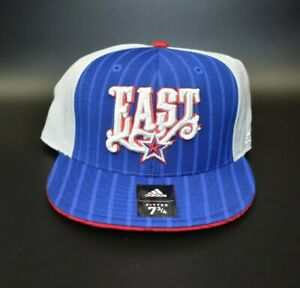 adidas 2008 NBA All-Star Game New Orleans Team East Fitted Cap Hat - Size: 7 3/4