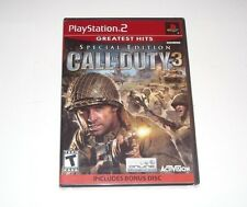 Call Of Duty 3 Special Edition Playstation 2 PS2 Game 2007 Brand New Sealed